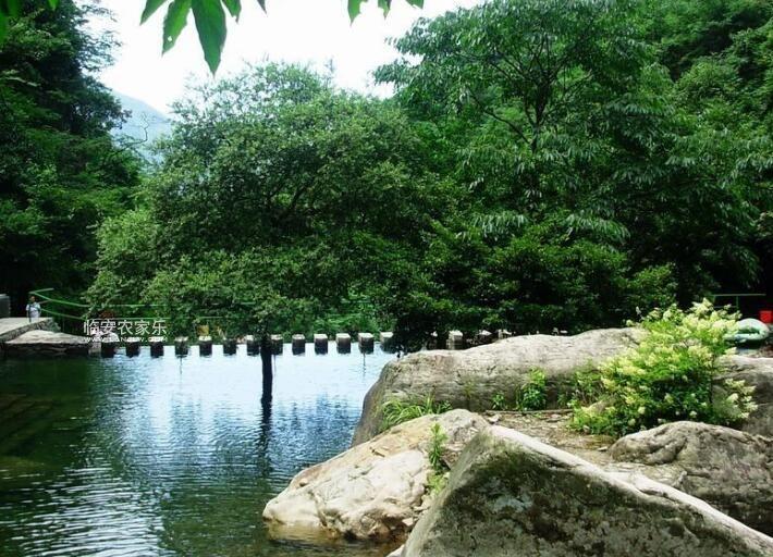 临安神龙川农家乐风景