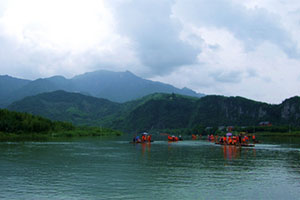 临安柳溪江